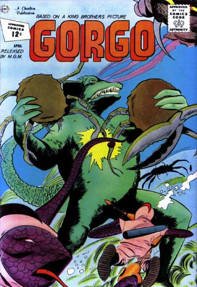Cover for Gorgo (Charlton, 1961 series) #6