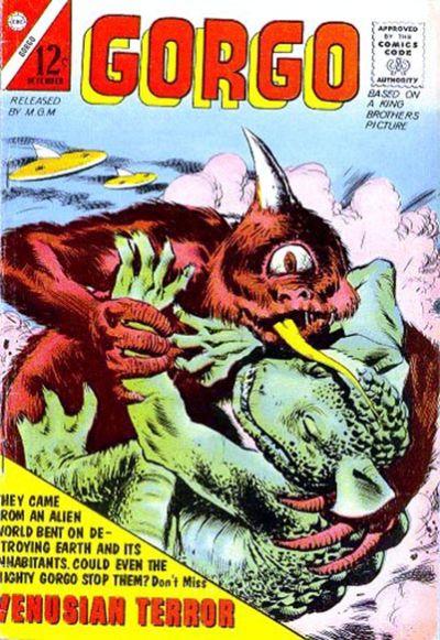 Cover for Gorgo (Charlton, 1961 series) #10