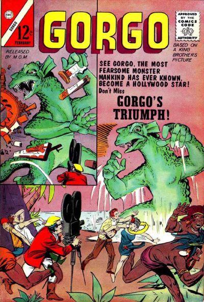 Cover for Gorgo (Charlton, 1961 series) #11 [British]