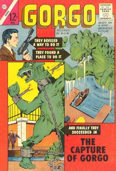 Cover for Gorgo (Charlton, 1961 series) #13 [British]