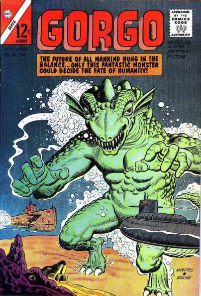 Cover for Gorgo (Charlton, 1961 series) #14 [British]