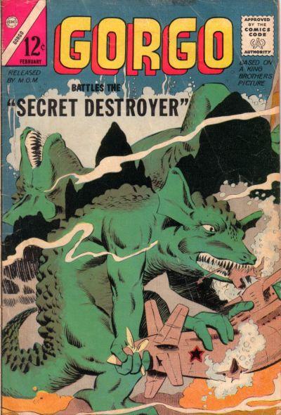 Cover for Gorgo (Charlton, 1961 series) #17