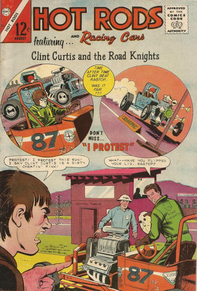 Cover for Hot Rods and Racing Cars (Charlton, 1951 series) #75
