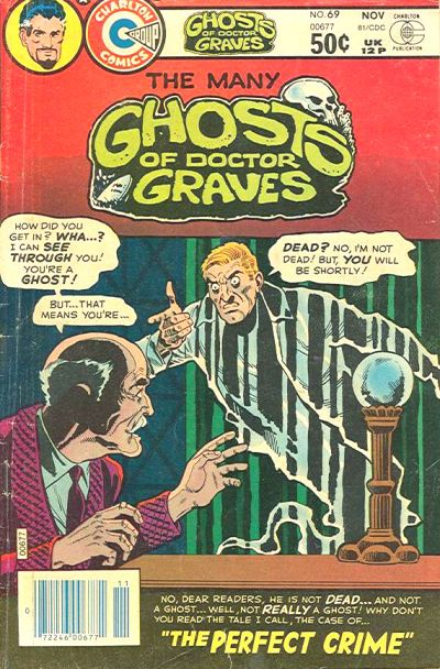 Cover for The Many Ghosts of Dr. Graves (Charlton, 1967 series) #69