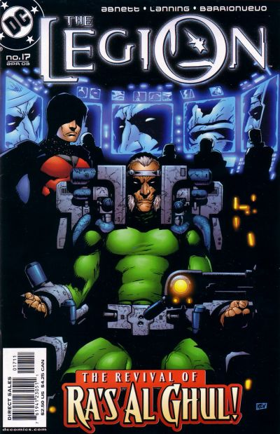 Cover for The Legion (DC, 2001 series) #17