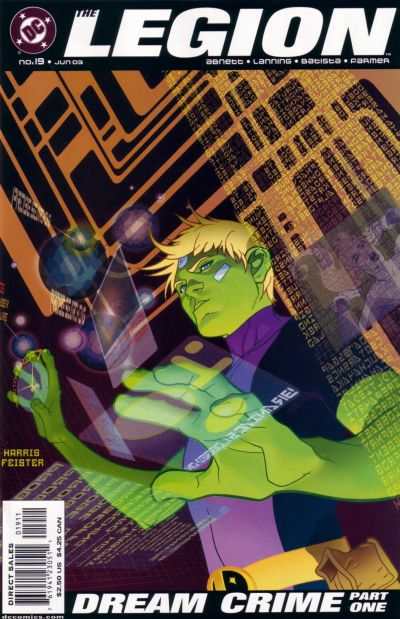 Cover for The Legion (DC, 2001 series) #19