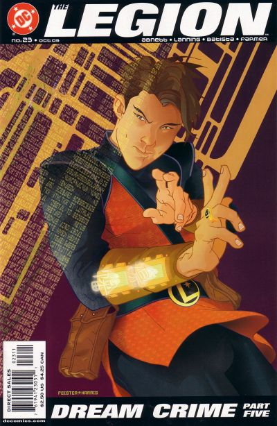 Cover for The Legion (DC, 2001 series) #23