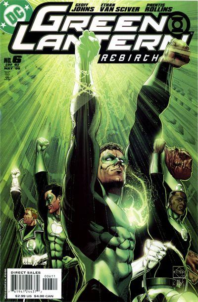 Cover for Green Lantern: Rebirth (DC, 2004 series) #6