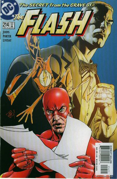 Cover for Flash (DC, 1987 series) #214