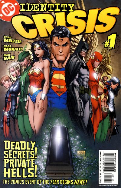 Cover for Identity Crisis (DC, 2004 series) #1 [Third Printing]