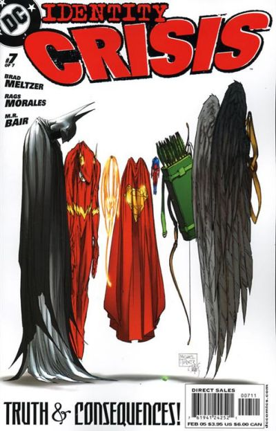 Cover for Identity Crisis (DC, 2004 series) #7 [First Printing]