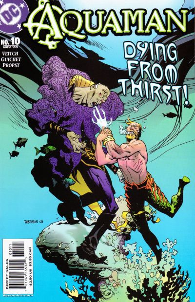 Cover for Aquaman (DC, 2003 series) #10