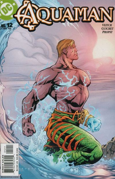 Cover for Aquaman (DC, 2003 series) #12