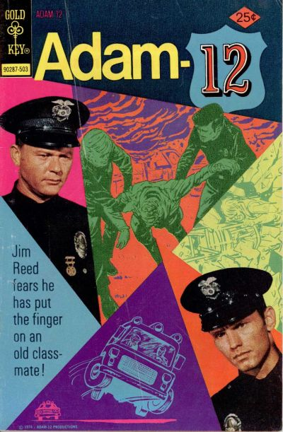 Cover for Adam-12 (Western, 1973 series) #6 [Whitman Variant]