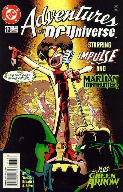 Cover for Adventures in the DC Universe (DC, 1997 series) #13