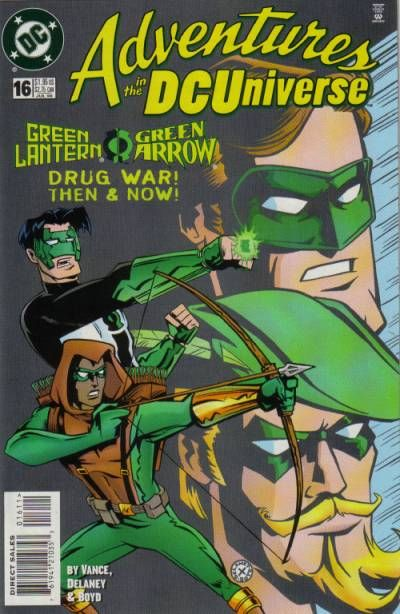 Cover for Adventures in the DC Universe (DC, 1997 series) #16