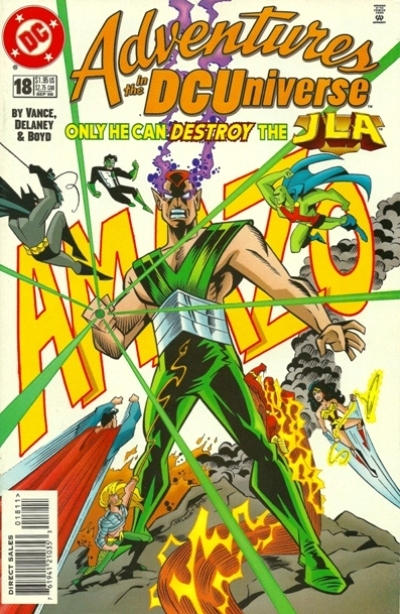 Cover for Adventures in the DC Universe (DC, 1997 series) #18