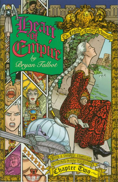 Cover for Heart of Empire (Dark Horse, 1999 series) #2