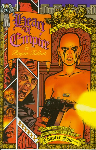 Cover for Heart of Empire (Dark Horse, 1999 series) #4