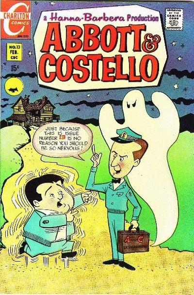 Cover for Abbott & Costello (Charlton, 1968 series) #13
