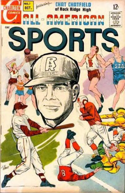 Cover for All-American Sports (Charlton, 1967 series) #1