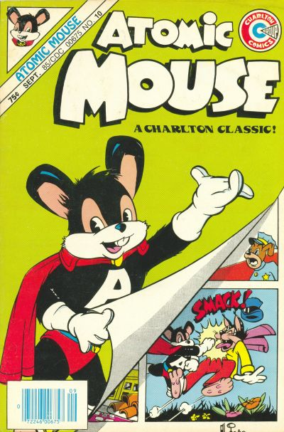 Cover for Atomic Mouse (Charlton, 1985 series) #10