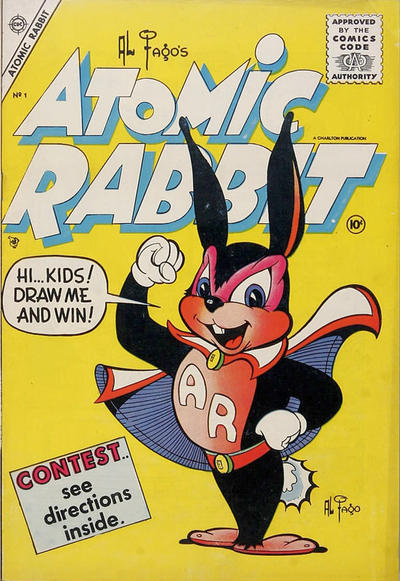 Cover for Atomic Rabbit (Charlton, 1955 series) #1