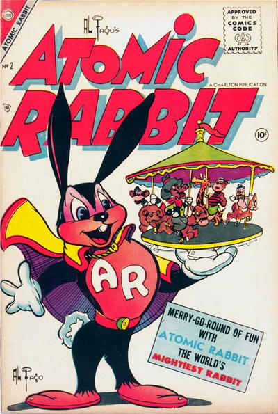 Cover for Atomic Rabbit (Charlton, 1955 series) #2