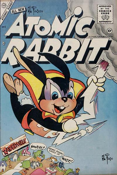 Cover for Atomic Rabbit (Charlton, 1955 series) #3