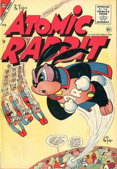 Cover for Atomic Rabbit (Charlton, 1955 series) #4