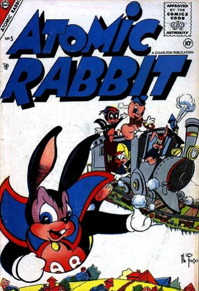 Cover for Atomic Rabbit (Charlton, 1955 series) #5