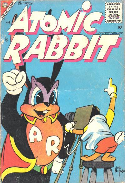 Cover for Atomic Rabbit (Charlton, 1955 series) #6