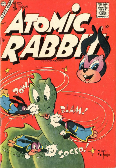 Cover for Atomic Rabbit (Charlton, 1955 series) #7