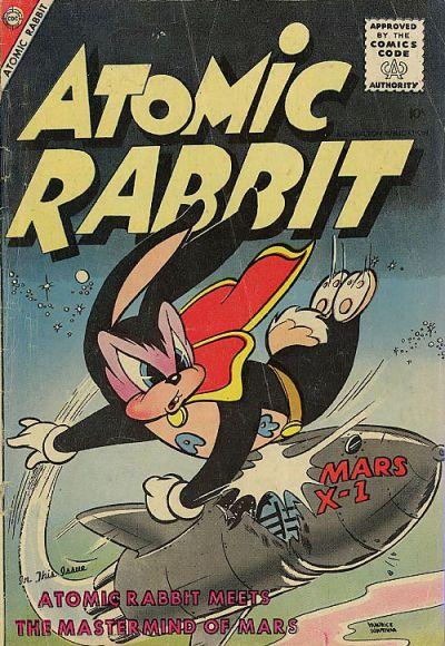 Cover for Atomic Rabbit (Charlton, 1955 series) #9