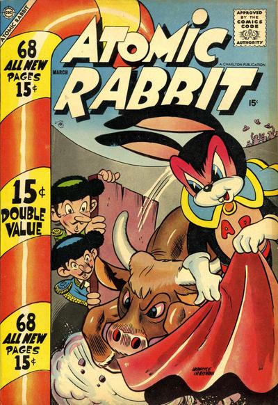 Cover for Atomic Rabbit (Charlton, 1955 series) #11