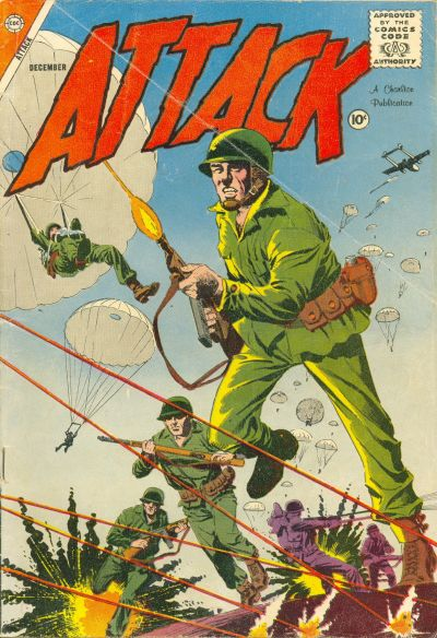 Cover for Attack (Charlton, 1958 series) #55