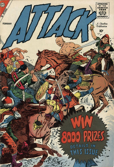 Cover for Attack (Charlton, 1958 series) #56
