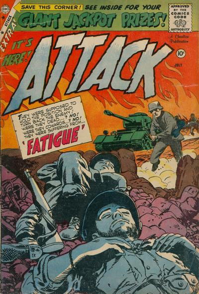 Cover for Attack (Charlton, 1958 series) #58