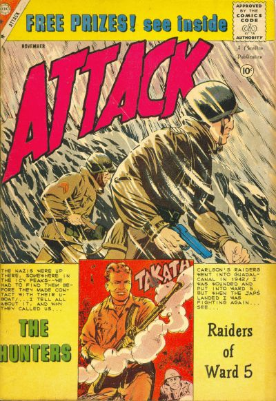 Cover for Attack (Charlton, 1958 series) #60