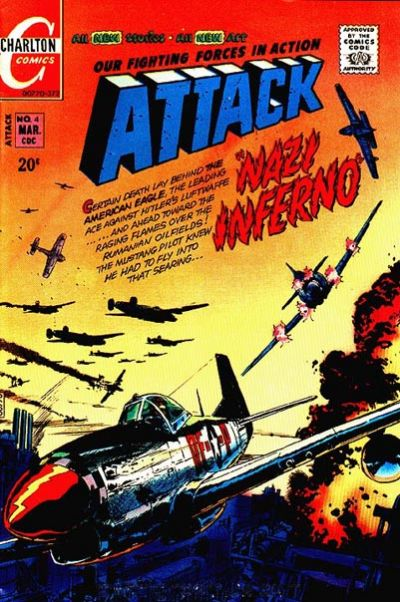 Cover for Attack (Charlton, 1971 series) #4