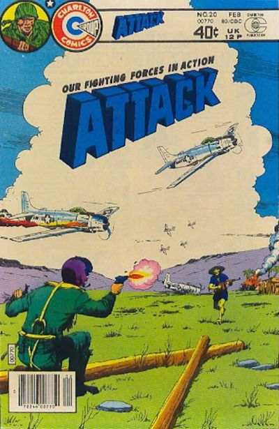 Cover for Attack (Charlton, 1979 series) #20