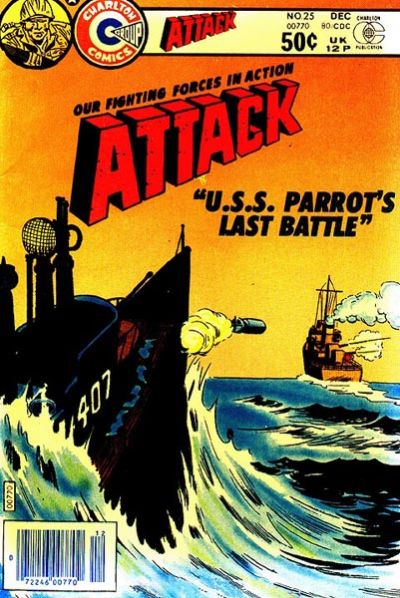 Cover for Attack (Charlton, 1979 series) #25