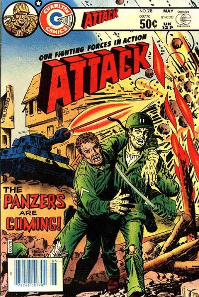 Cover for Attack (Charlton, 1979 series) #28