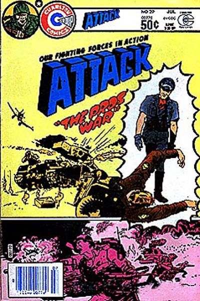 Cover for Attack (Charlton, 1979 series) #29