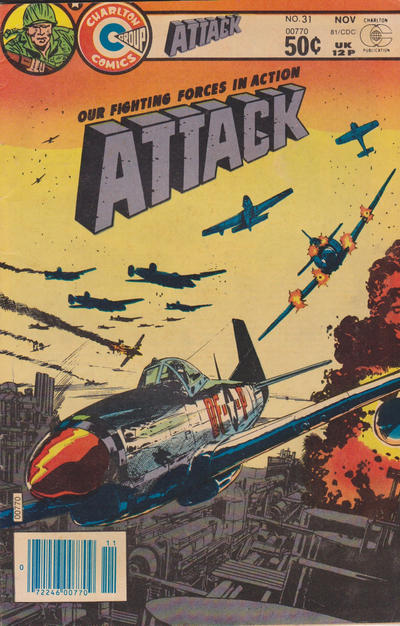 Cover for Attack (Charlton, 1979 series) #31