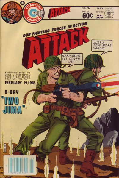 Cover for Attack (Charlton, 1979 series) #34