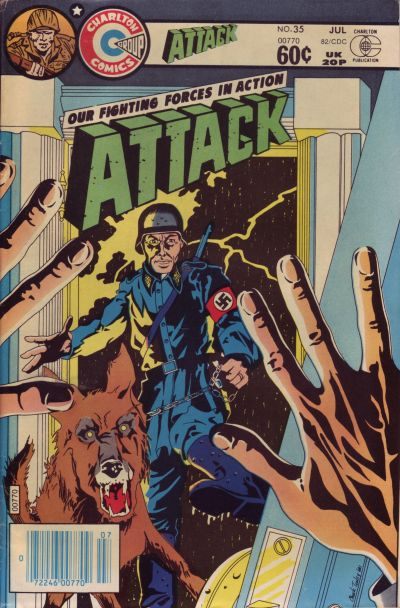 Cover for Attack (Charlton, 1979 series) #35