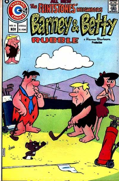 Cover for Barney and Betty Rubble (Charlton, 1973 series) #10