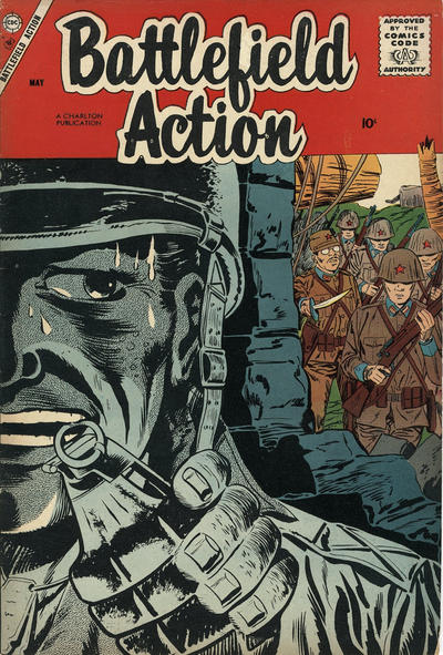 Cover for Battlefield Action (Charlton, 1957 series) #19