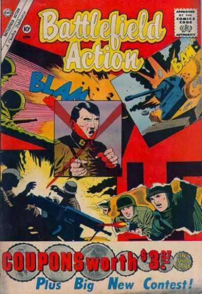 Cover for Battlefield Action (Charlton, 1957 series) #35